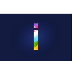 I letter logo icon symbol vector