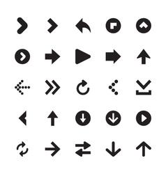 Mini Arrows Icons 1 vector