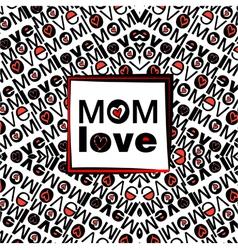 Mom love patron 3 baja vector
