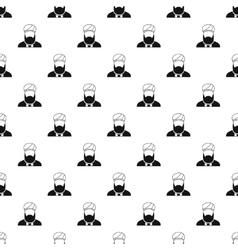 Muslim man pattern simple style vector