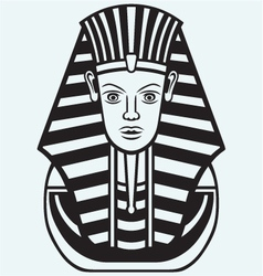 Portrait of Pharaoh vector image