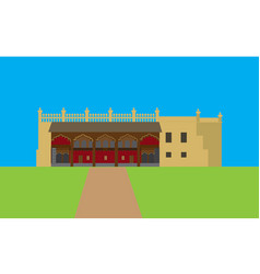Tipu summer palace vector