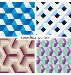 seamless pattern set 6 vector image