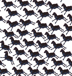 one sheep pattern vector image vector image