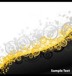 party explosions retro banner vector image vector image