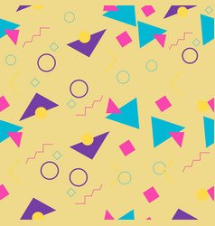90s style pattern vector image