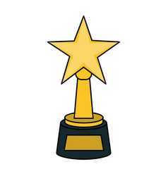 award icon image vector image