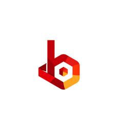 bio colors logo vector image