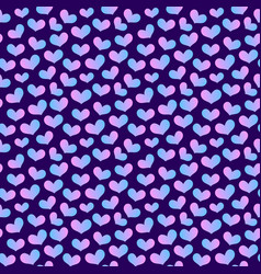 hearts seamless pattern 5 vector image