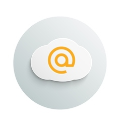 Internet cloud business concept vector image