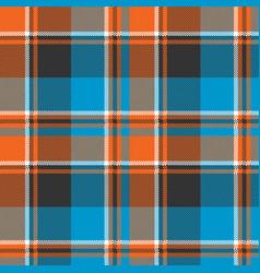 Orange blue fabric texture seamless pattern vector