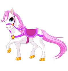 Princess horse vector