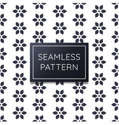 simple and clean geometric flower seamless vector image