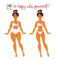 Two Body Types vector