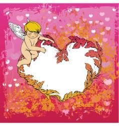 angel illustration vector image