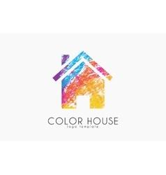 Home Logo house logo color house design home logo vector image