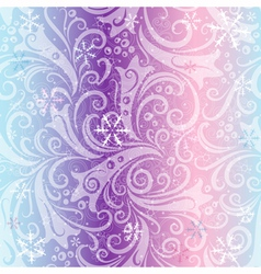 Seamless striped christmas pattern vector image vector image