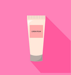 tube of cream from beauty salon vector image vector image
