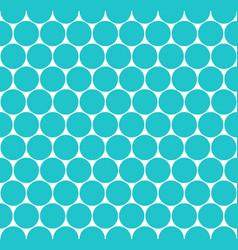 seamless pattern circular shapes vector image