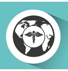 symbol medicine health icon vector image