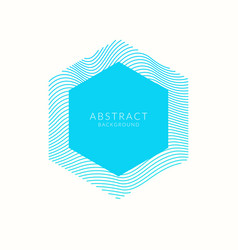 Abstract background with dynamic waves vector