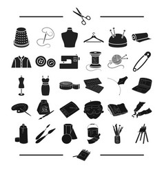 Accessories atelier repair and other web icon vector