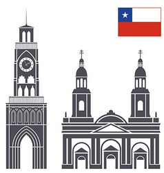 Chile vector image
