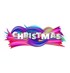 christmas abstract background with colorful vector image