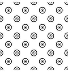Gear wheel pattern vector