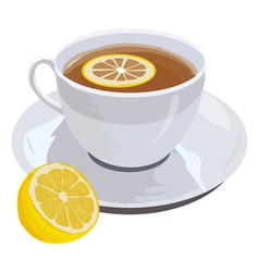 lemon tead vector image