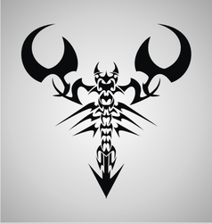 Tribal Scorpion vector image