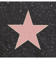 Fame star vector
