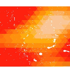 RetroDesign flyer template Abstract background vector image vector image