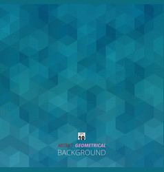 abstract background of blue gradient geometric vector image