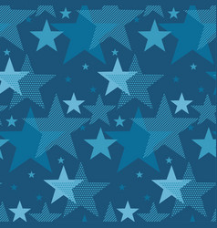 abstract geometry night star motif vector image