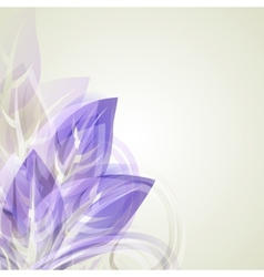 Abstract vintage purple background for design with vector image