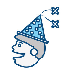 celebration party hat vector image