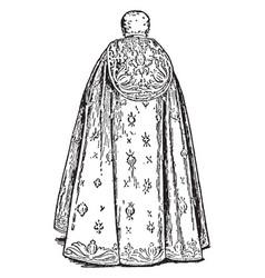 coronation cope vintage vector image