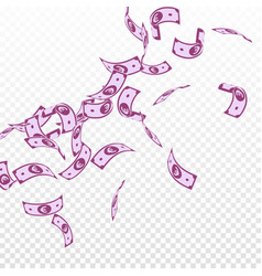 European union euro notes falling floating eur bi vector