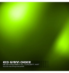 Green Business Concept Background vector image