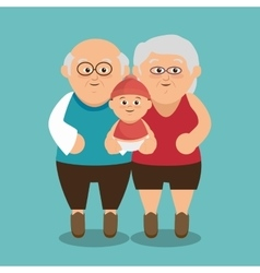Group family members characters vector