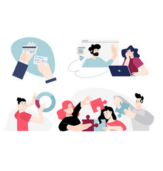 people concepts vector image