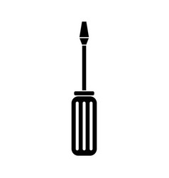 screwdriver icon design template isolated vector image