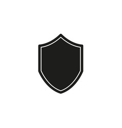 security shield - protection and safety sign vector image