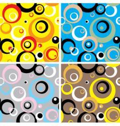 Seventies circles multi vector
