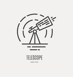 Space Logo vector image