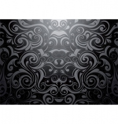 tribal wallpaper vector image vector image