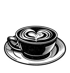 Chai Latte vector image vector image