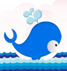 cute Dolphins vector image