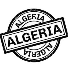 Algeria rubber stamp vector